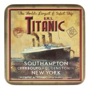 Titanic Vintage Poster Collectors Drinks Coaster (sg)